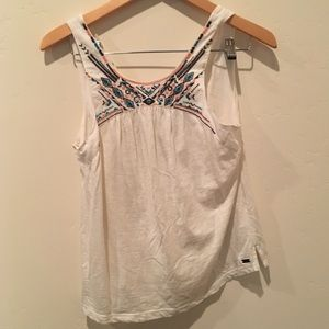 Roxy embroidered tank top